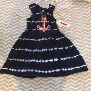 Flapdoodles Tie Dye Dress